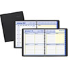 """QuickNotes Weekly/Monthly Appointment Book, 8"""" x 9 7/8"""", Black, 2021"""