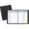 """QuickNotes Monthly Planner, 8 1/4"""" x 10 7/8"""", Black, 2022"""
