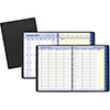 """QuickNotes Weekly/Monthly Appointment Book, 8 1/4"""" x 10 7/8"""", Black, 2022"""