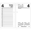 """Desk Calendar Refill, 3 1/2"""" x 6"""", White, 2021"""