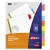 Big Tab™ Insertable Dividers, 8-Tab Set, Multicolor