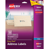 "Easy Peel®Inket  Address Labels, Clear, 1"" x 2 5/8"", 300/PK"