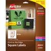 "Easy Peel® Labels, TrueBlock® Technology, Print to the Edge, Square, 2"" x 2"", 300/PK"