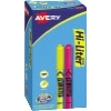 Hi-Liter® Pen-Style, Highlighters, Assorted Colors, Smear Safe™, Nontoxic, 24/PK