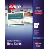 """Note Cards, Uncoated, Matte, Two-Sided Printing, 4 1/4"""" x 5 1/2"""", 50/BX with Envelopes"""