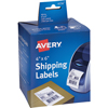 "Shipping Labels for Dymo® and Zebra® Printers, Permanent Adhesive, 4"" x 6"", 220/BX"