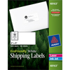 """EcoFriendly Shipping Labels, Permanent Adhesive, 2"""" x 4"""", 1000/BX"""