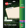 "EcoFriendly File Folder Labels, Permanent Adhesive, 2/3"" x 3 7/16"", 750/PK"
