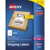 "Internet Shipping Labels, TrueBlock® Technology, Permanent Adhesive, 5 1/2"" x 8 1/2"", 200/BX"