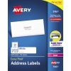 "Easy Peel® Address Labels, Sure Feed™ Technology, Permanent Adhesive, 1"" x 4"", 2000/BX"