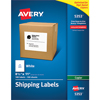 """Labels for Copiers, Permanent Adhesive, 8 1/2"""" x 11"""", 100/BX"""