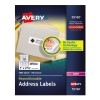 """Repositionable Address Labels, Repositionable Adhesive, 1"""" x 2 5/8"""", 3000/BX"""