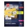"WeatherProof™ Mailing Labels, TrueBlock® Technology, Permanent Adhesive, 1"" x 2 5/8"", 1500/PK"