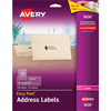 "Easy Peel® Address Labels, Permanent Adhesive, Clear, 1"" x 2 5/8"", 750/BX"