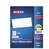 """Return Address Labels, Sure Feed™ Technology, Permanent Adhesive, 1/2"""" x 1 3/4"""", 20000/BX"""