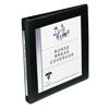 "Framed View Binder, 1/2"" Slant Rings, 120-Sheet Capacity, Black"