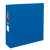 "Heavy-Duty Binder, 3"" One-Touch Rings, 670-Sheet Capacity, DuraHinge®, Blue"