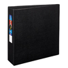 "Heavy-Duty Binder, 3"" One-Touch Rings, 670-Sheet Capacity, DuraHinge®, Black"