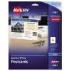 """Postcards, Glossy, Two-Sided Printing, 5 1/2"""" x 4 1/4"""", 100/PK"""