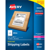"""Shipping Labels, Permanent Adhesive, 5 1/2"""" x 8 1/2"""", 500/BX"""