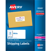 "Shipping Labels, Permanent Adhesive, 2"" x 4"", 2500/BX"