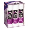 Glue Stic™ Disappearing Purple Color, Washable, Nontoxic, 1.27 oz., 6/PK