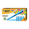 Brite Liner Highlighter, Chisel Tip, Fluorescent Blue Ink, Dozen