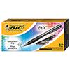 BU3 Retractable Ballpoint Pen, Bold, 1.0mm, Black, DZ