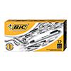 Clic Stic Ballpoint Retractable Pen, Black Ink, 1mm, Medium, DZ