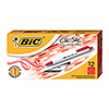 Clic Stic Ballpoint Retractable Pen, Red Ink, 1mm, Medium, Dozen