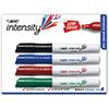 Great Erase Grip Chisel Tip Dry Erase Marker, Assorted, 4/Set