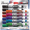 Advanced Tank Dry Erase Marker, Chisel Tip, Assorted, 12/ST