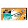 Round Stic Xtra Precision & Xtra Life Ballpoint Pen, Black Ink, .8mm, Fine, DZ