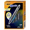 Gelocity Roller Ball Retractable Gel Pen, Black Ink, Medium, .7mm, 24/Pack