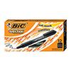 Soft Feel Ballpoint Retractable Pen, Black Ink, .8mm, Fine, DZ