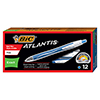 Atlantis Exact Retractable Ballpoint Pen, Blue Ink, .7mm, Fine, Dozen