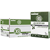 X-9® Multi-Use Copy Paper, 92 Bright, 20lb., 8 1/2 x 11,  3 Hole Punched, White, 5000/CT