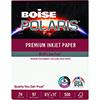 POLARIS® Premium Inkjet Paper, 97 Bright, 24 lb., 8 1/2 x 11, White, 500/RM