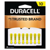Size 10 Hearing Aid Batteries, 8/PK