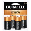 Coppertop® C Alkaline Batteries, 4/PK