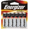 MAX Alkaline Batteries, AA, 12/PK