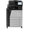 Color LaserJet Enterprise flow M880z Multifunction Laser Printer, 2100 Sheet Cap