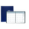"Recycled Ruled Monthly Planner, 14-Month Dec.-Jan., 8 1/2"" x 11"", Blue, 2021-2022"
