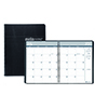 Academic Ruled Monthly Planner, 14-Month July-August, 8-1/2 x 11, Black, 2021-2022