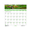 """Recycled Gardens of the World Monthly Wall Calendar, 12"""" x 12"""", 2021"""