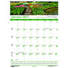 """Recycled Gardens of the World Monthly Wall Calendar, 12"""" x 16 1/2"""", 2021"""