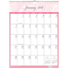 Recycled Breast Cancer Awareness Monthly Wall Calendar, 16 1/2 x 12, 2019