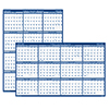 Poster Style Reversible/Erasable Yearly Academic Calendar, 18 x 24, 2020-2021