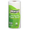 100% Recycled Giant Roll Paper Towel, White, 2-Ply, 140 Sheets/RL, 12 Rolls/CT