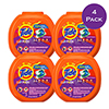 PODS™ Liquid Detergent Pacs, Spring Meadow™, 72 Count/Pack, 4 Packs/Carton